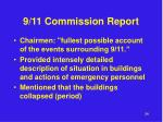 9 11 commission report