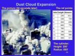 dust cloud expansion24