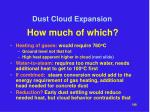 dust cloud expansion31