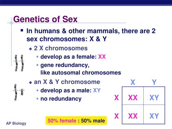 Genetics of Sex