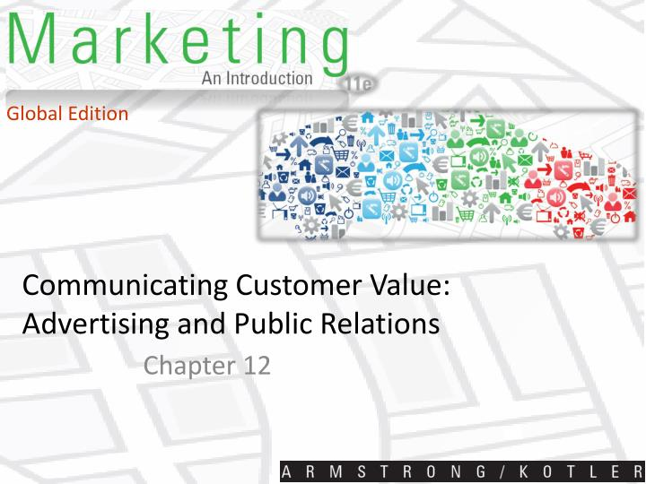 communicating customer value advertising and public relations n.