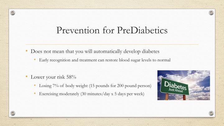 Prevention for