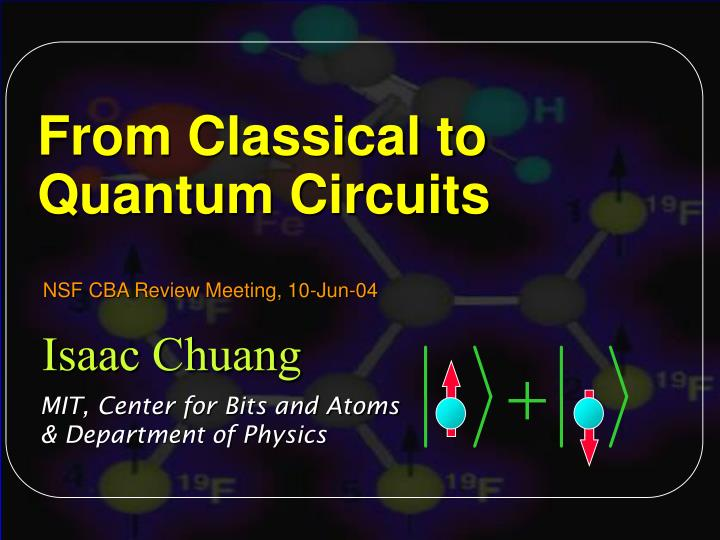 from classical to quantum circuits n.