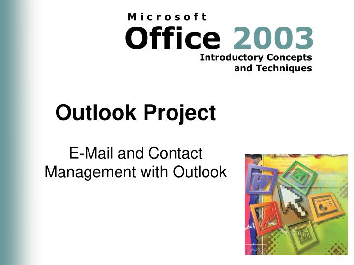 outlook project n.