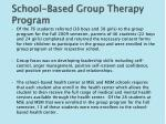 school based group therapy program1
