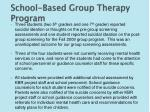 school based group therapy program4