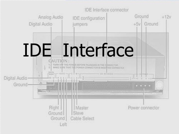 ide interface n.