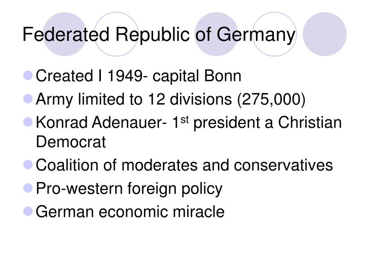 Federated Republic of Germany