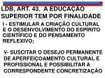 ldb art 43 a educa o superior tem por finalidade