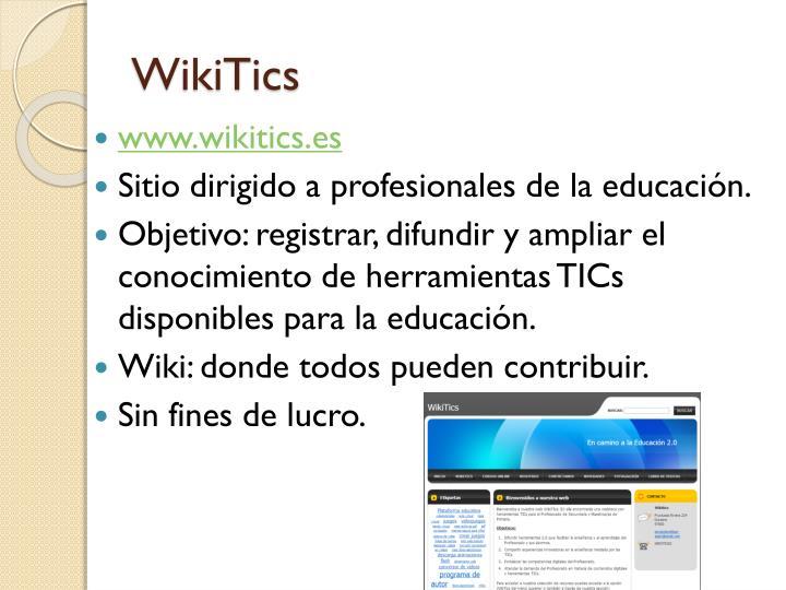 WikiTics