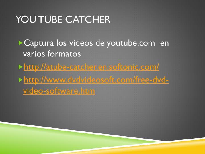 You tube catcher