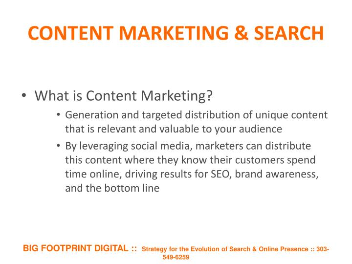 content marketing search n.