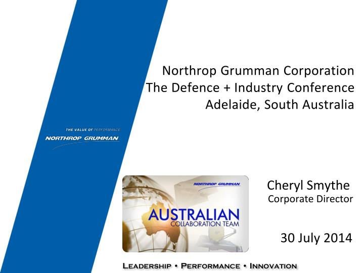 northrop grumman corporation the defence industry conference adelaide south australia n.