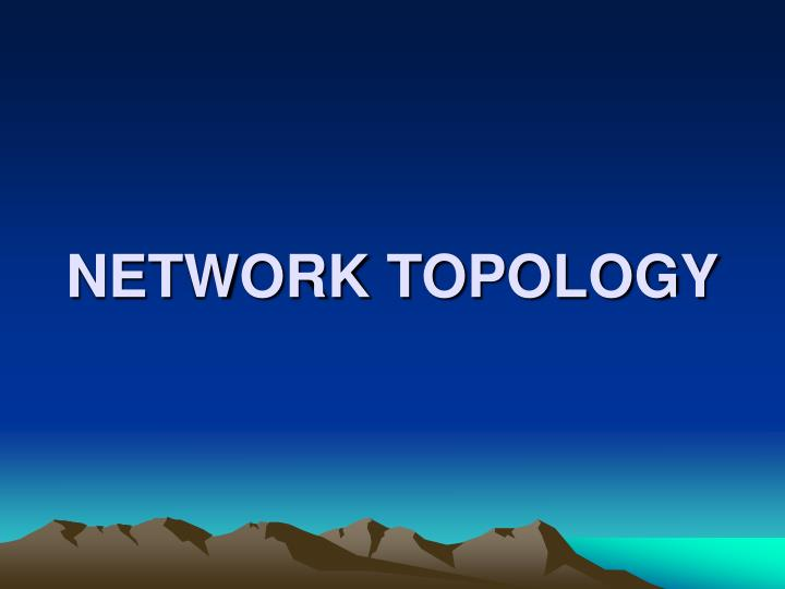 network topology n.