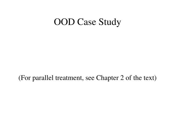 for parallel treatment see chapter 2 of the text n.