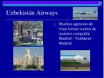 uzbekist n airways