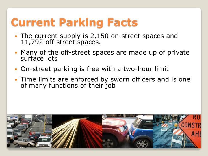 Current parking facts