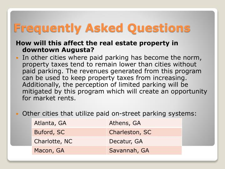 How will this affect the real estate property in downtown Augusta?