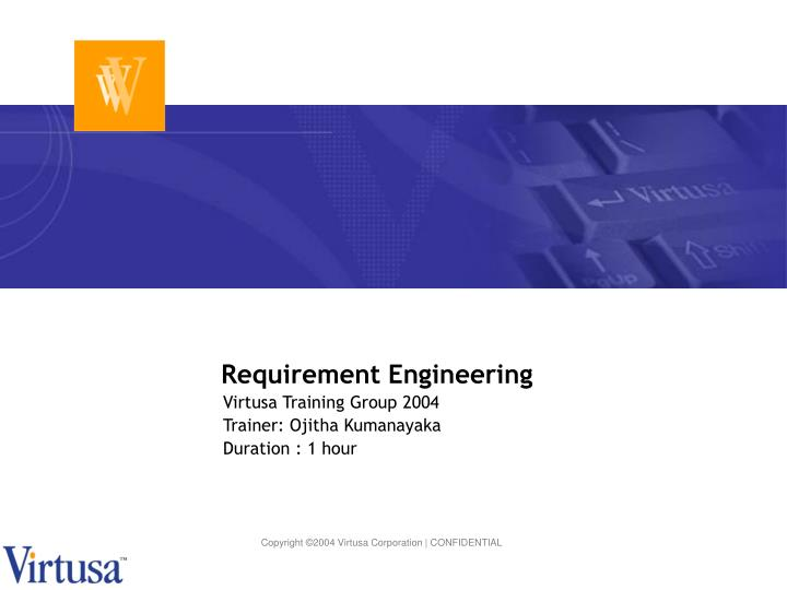 requirement engineering n.