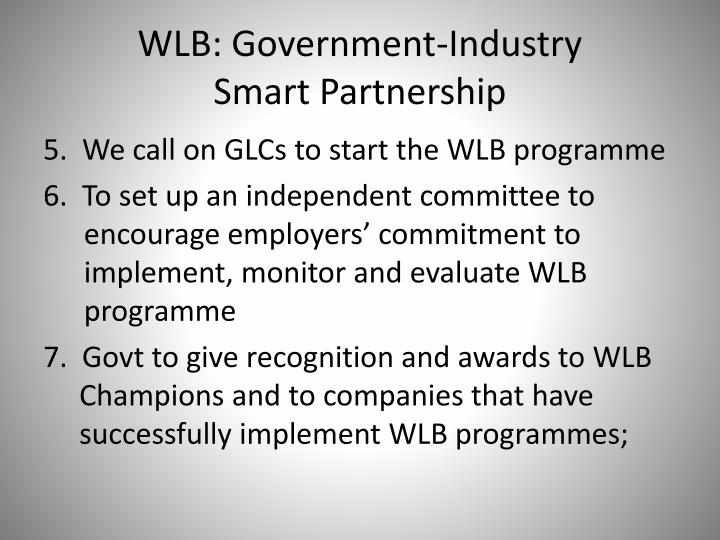 WLB: Government-Industry