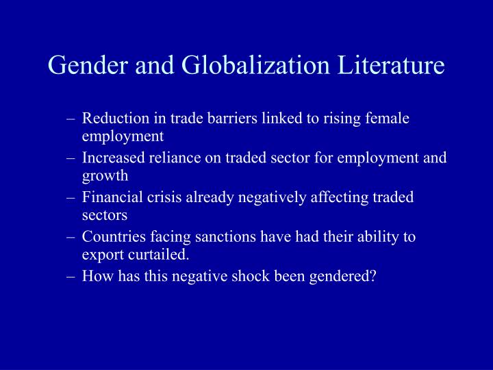 the two eras of globalization and trade Output and understanding triggered by controversy in only two key domains of research the democratic peace and globalization international relations also benefits from a wide range of research approaches.