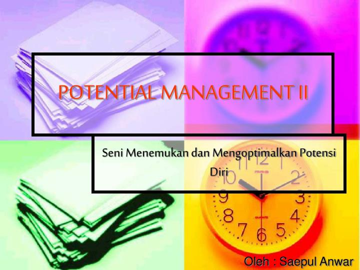 potential management ii n.