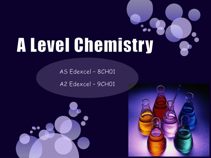 a level chemistry n.