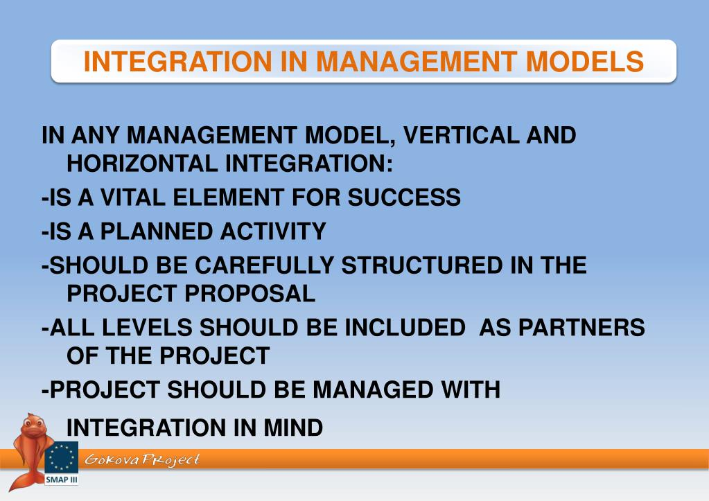 PPT - IN ANY MANAGEMENT MODEL, VERTICAL AND HORIZONTAL