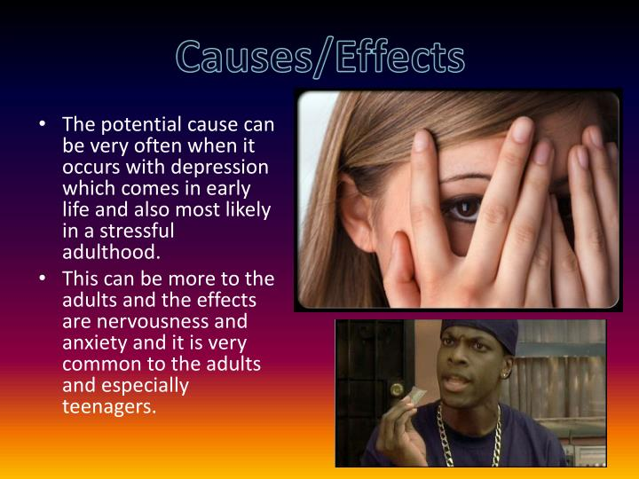 Causes/Effects