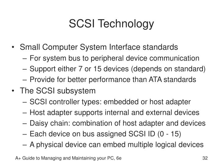 SCSI Technology