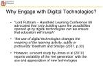 why engage with digital technologies1