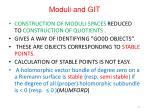 moduli and git