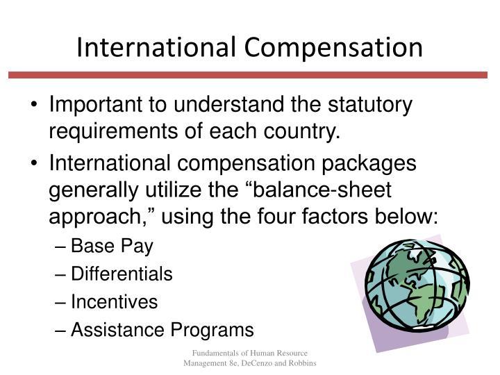 international compensation International human resource management english for human resources vv 43 - hr management (1) | business english vocabulary - duration: 7:22 business english pod - learn business english 133,170.