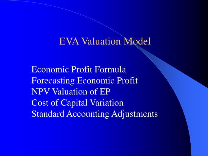 EVA Valuation Model