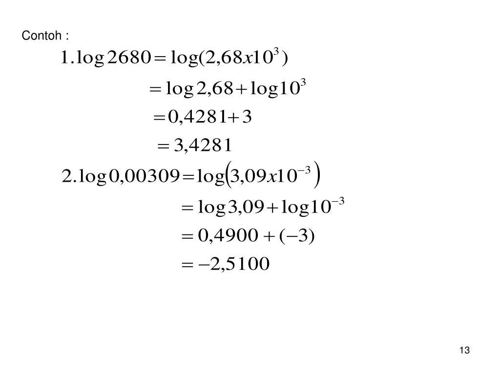 Ppt Logaritma Powerpoint Presentation Id 5318413