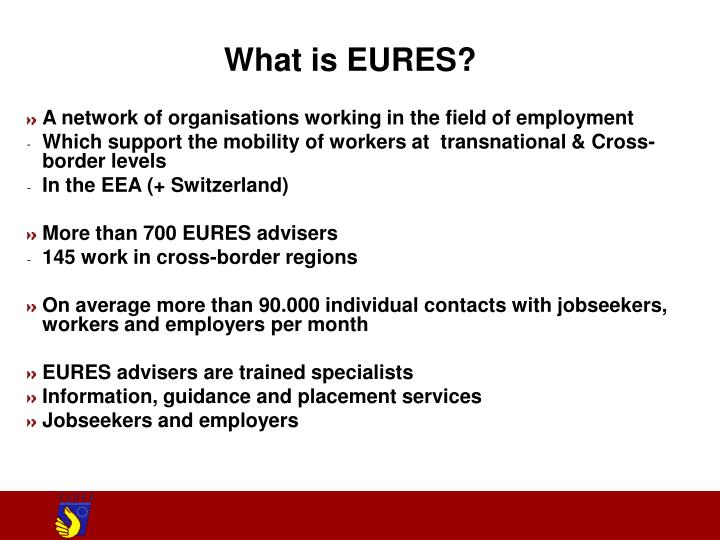 What is EURES?