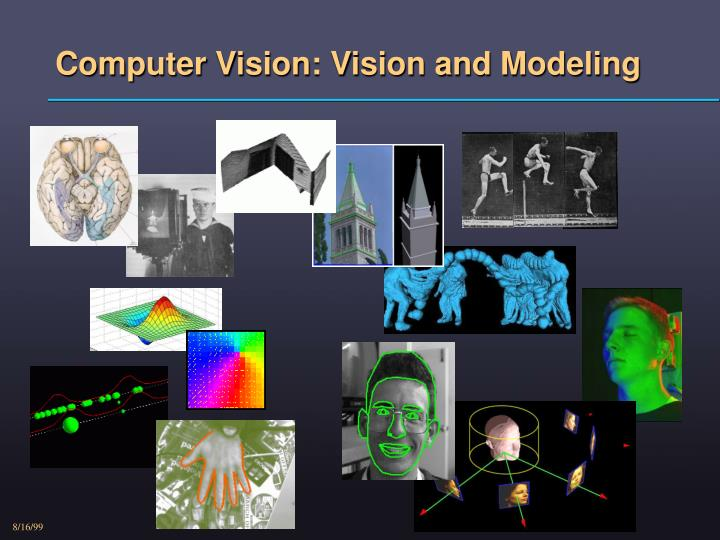computer vision vision and modeling n.