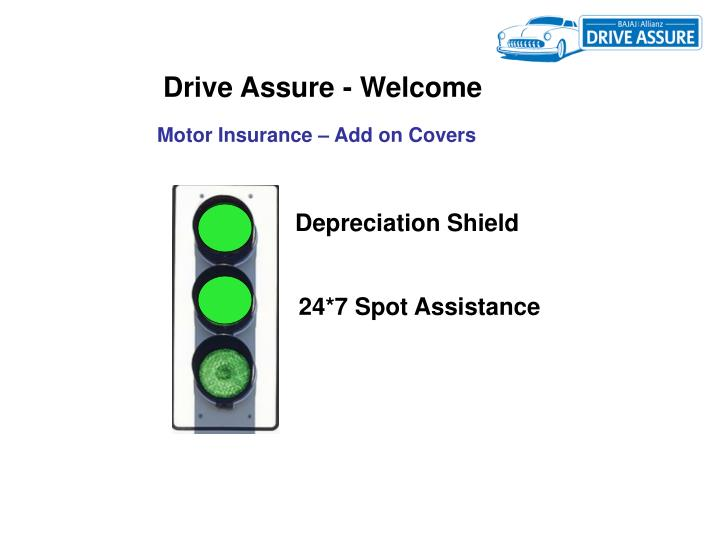 Drive Assure - Welcome