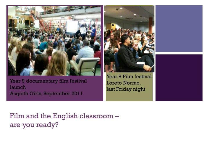 film and the english classroom are you ready n.