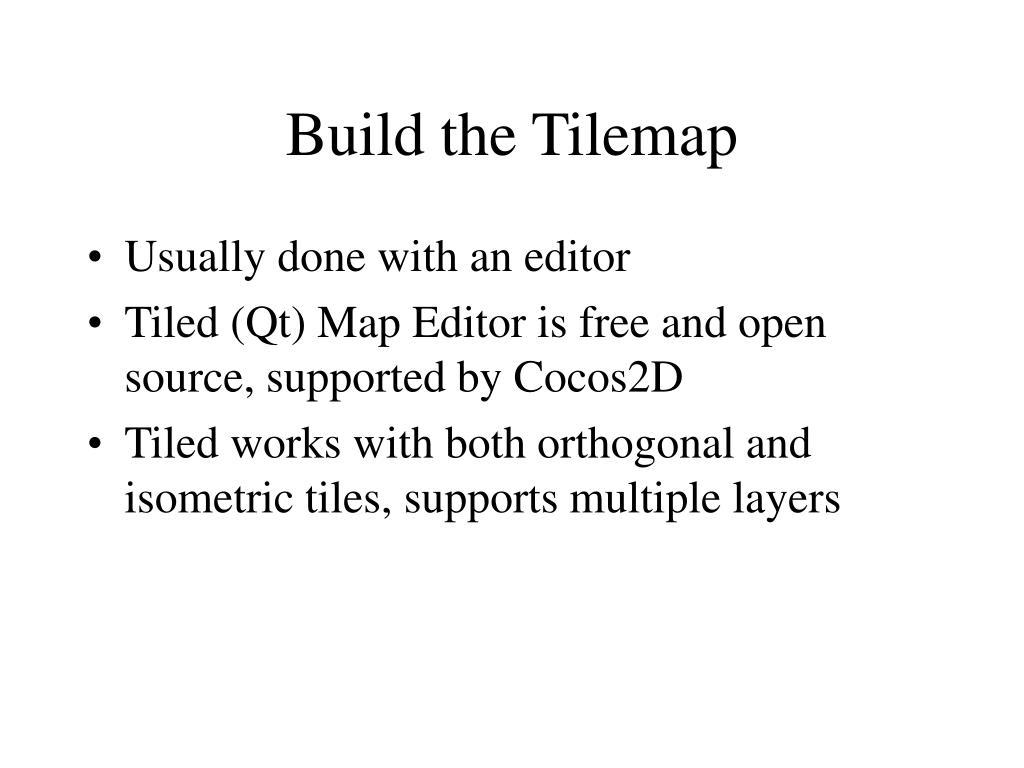 PPT - Tilemaps PowerPoint Presentation - ID:5318786