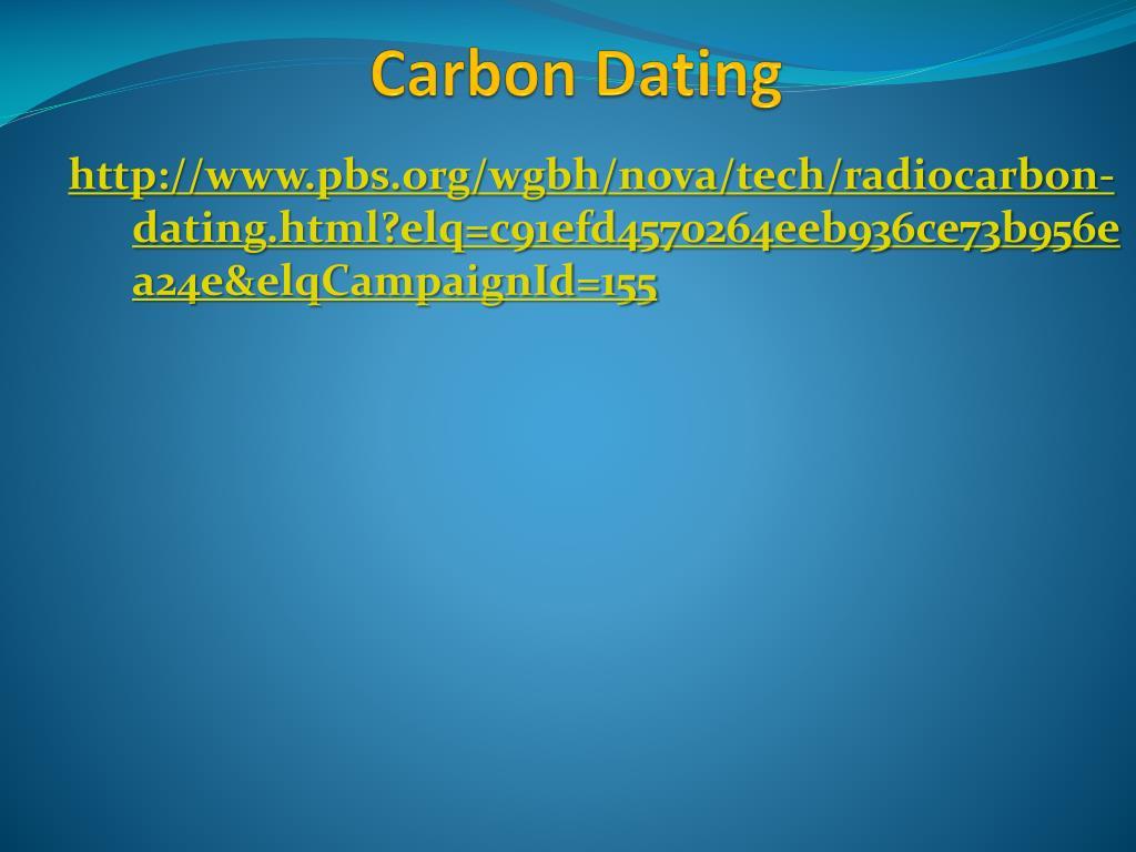Nova Radiocarbon dating