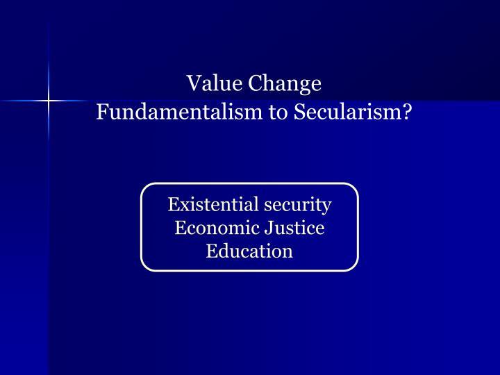 Value Change
