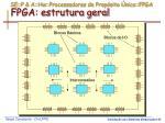 se p a hw processadores de prop sito nico fpga fpga estrutura geral