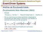 se p a sw str escalonamento garantia em projeto event driven systems4