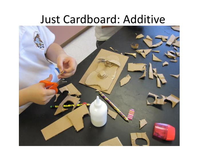 Just Cardboard: Additive