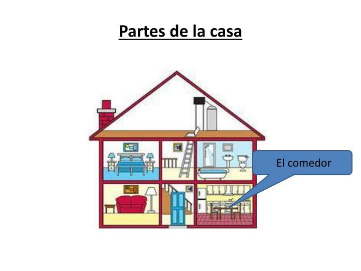 Ppt partes de la casa powerpoint presentation id 5319823 - Partes de la casa en ingles para ninos ...