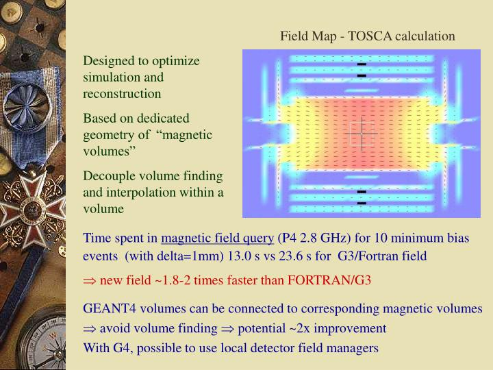 Field Map - TOSCA calculation
