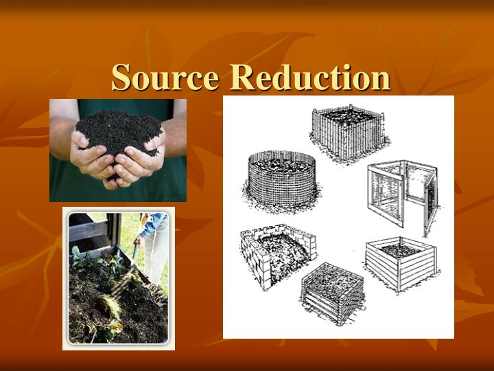 source reduction n.