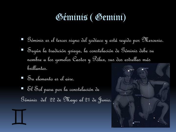 Géminis (