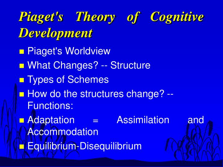 cognitive disequilibrium theory